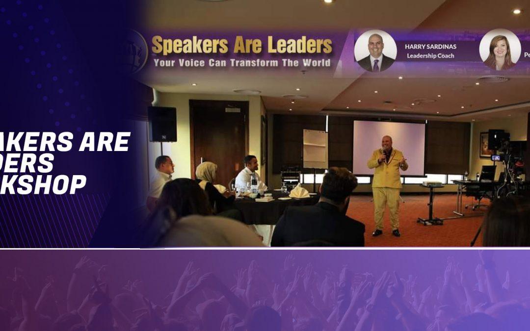 Speakers Are Leaders Workshop